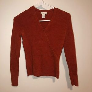 orange sweater ACCEPTING OFFERS